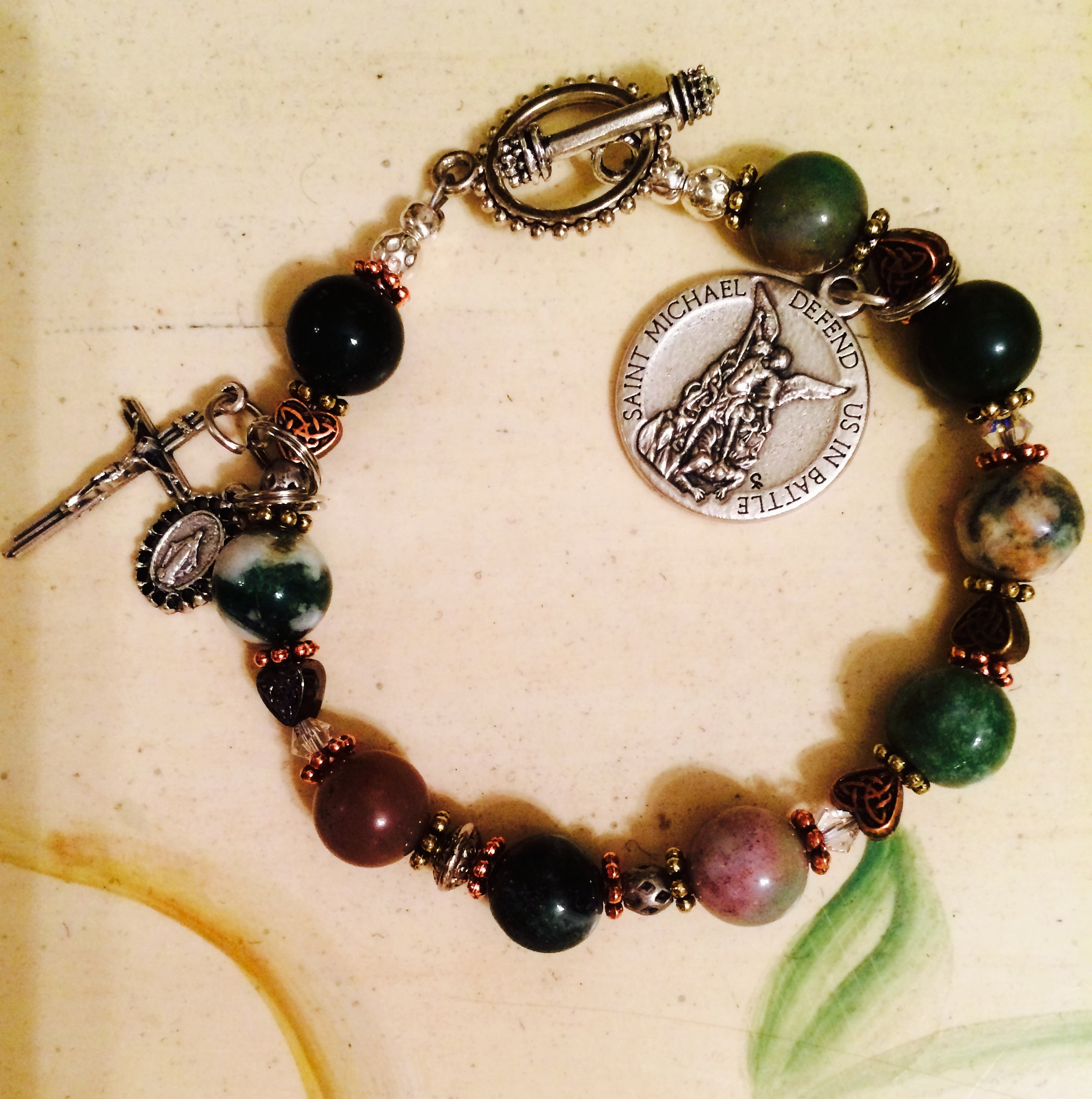 One Military Novena Prayer Bracelet 4 Which Is For 39 99